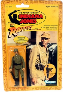 Idiana Jones Raiders of the Lost Ark Vintage Kenner Action Figure Indiana Jones in German Uniform