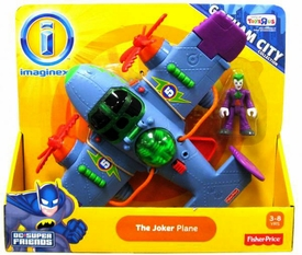 Imaginext DC Gotham City Collection Exclusive Vehicle Joker Plane