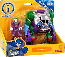 Imaginext DC Gotham City Collection Exclusive Vehicle The Joker Suit