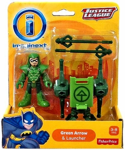 Imaginext DC Justice League Figure Green Arrow & Launcher