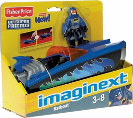 Imaginext DC Super Friends Batboat [Batman Figure]