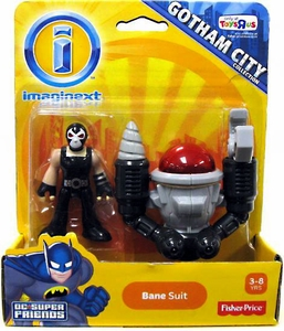 Imaginext DC Super Friends Exclusive Gotham City Collection Bane Suit