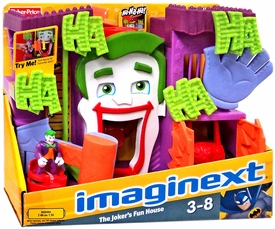 Imaginext DC Super Friends Joker's Fun House Playset