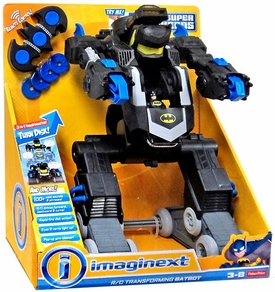 Imaginext DC Super Friends R/C Transforming Batbot New!