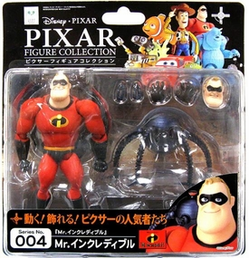 Incredibles Revoltech Pixar Figure Collection #004 Mr. Incredible