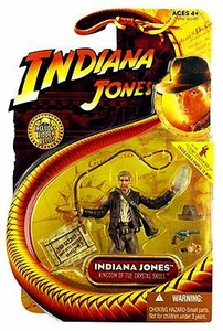 Indiana Jones Movie Hasbro Series 2 Action Figure Indiana Jones [Jacket, Whip & Crystal Skull] [Kingdom of the Crystal Skull]