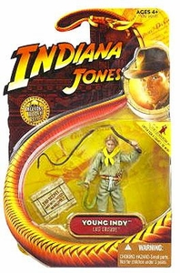 Indiana Jones Movie Hasbro Series 3 Action Figure Young Indy [River Phoneix] [Last Crusade]