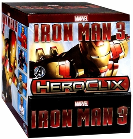 Iron Man 3 Heroclix Booster Box [24 Packs] New!