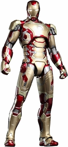 Iron Man 3 Hot Toys 1/6 Scale Collectible Diecast Figure Iron Man Mark XLII New!