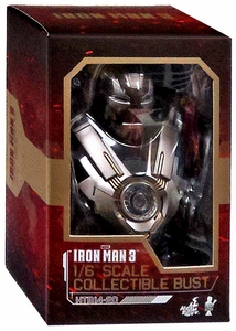 Iron Man 3 Hot Toys Movie 1/6 Scale Collectible Bust Iron Man MK 24 New!