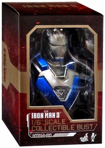 Iron Man 3 Hot Toys Movie 1/6 Scale Collectible Bust Iron Man MK 30 New!