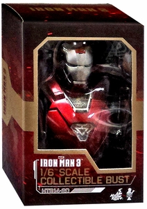 Iron Man 3 Hot Toys Movie 1/6 Scale Collectible Bust Iron Man MK 33 New!