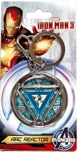 Iron Man 3  Pewter Keyring Arc Reactor