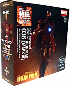 Iron Man Revoltech #036 Sci-Fi Super Poseable Action Figure Iron Man [Mark III]
