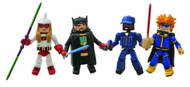 Jay & Silent Bob Stike Back Minimates Series 1 Box Set [Bluntman, Chronic, Cock-Knocker & Chaka Luther King] Pre-Order ships October