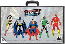 Justice League Of America Retro 8 Inch Action Figure Carrying Case