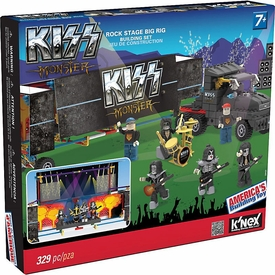 K'NEX Building Set #48465 KISS Rock Stage Big Rig