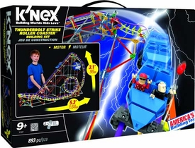 K'NEX Set #51587 Thunderbolt Strike Roller Coaster