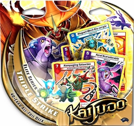 Kaijudo Elite Series Triple Strike Premium Foil Deck BLOWOUT SALE!