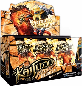 Kaijudo Quest for the Gauntlet Booster BOX [36 Packs] BLOWOUT SALE!
