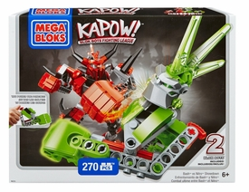 Kapow! Mega Bloks Set #94215 Bash Vs Nitro Showdown New!
