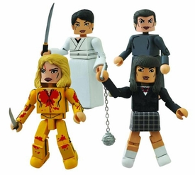 Kill Bill 10th Anniversary Minimates House of Leaves Box Set Pre-Order ships August
