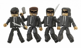 Kill Bill Minimates Mini Figure Set Crazy 88  Pre-Order ships August