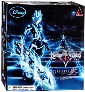 Kingdom Hearts 3D Disney Square-Enix Play Arts Kai Action Figure Riku [Tron Legacy Version]