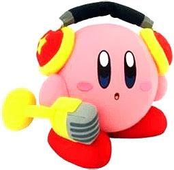 Kirby Adventure Action Plush Kirby with Microphone Pre-Order ships July