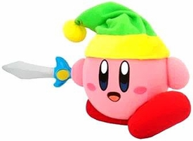 Kirby Adventure Action Plush Kirby with Sword Pre-Order ships August
