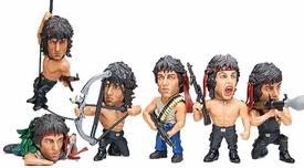 Kitan-Club Rambo First Blood Series 1 Set of 6 Mini Figures