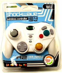 Komodo Shockwave Wireless White Wii Controller
