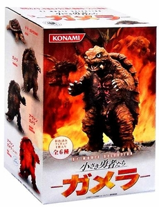 Konami Gamera Japanese Action Figure SF Movie Selection Gamera Little Braves Set of 6
