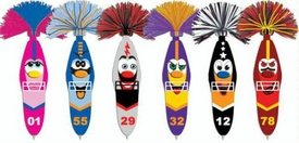 Kooky Klickers Krew 27 Set of 6 Pens