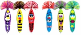 Kooky Klickers Krew 7 Special Edition Re-Release Set of 6 Pens