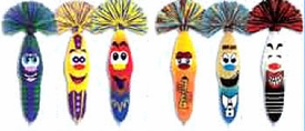Kooky Klickers Krew 8 Special Edition Re-Release Set of 6 Pens