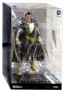 Kotobukiya DC Comics New 52 ArtFX+ Statue Black Adam New!