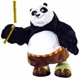 Kung Fu Panda Movie Toy Electronic Deluxe 21 Inch LOOSE Action Figure Kickin' Po