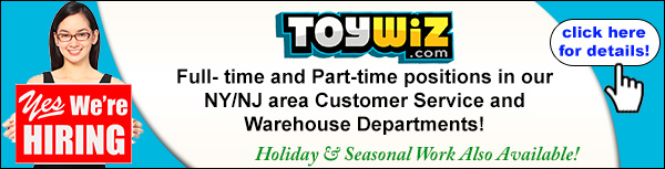 ToyWiz is Hiring!