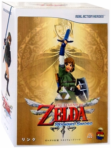 Legend of Zelda Medicom RAH 12 Inch Action Figure Link New!