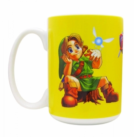 Legend of Zelda Ocarina of Time Mug Little Link  Pre-Order ships July