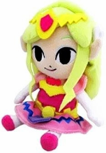 Legend of Zelda Wind Waker 8 Inch Plush Princess Zelda Hot! Pre-Order ships July