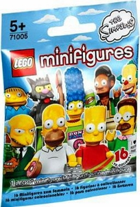 LEGO #71005 Simpsons Mini Figure Mystery Pack [1 Random Mini Figure!] Pre-Order ships June