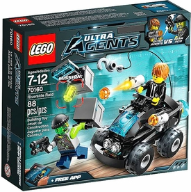 LEGO Ultra Agents Set #70160 Riverside Raid