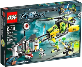 LEGO Ultra Agents Set #70163 Toxikita's Toxic Meltdown