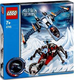 LEGO Alpha Team Set #4745 Blue Eagle vs. Snow Crawler
