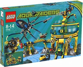 LEGO Aqua Raiders Set #7775 Aquabase Invasion