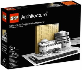 LEGO Architecture Set #21004 Solomon R. Guggenheim Museum Damaged Packaging, Mint Contents!