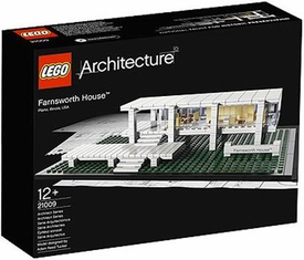LEGO Architecture Set #21009 Farnsworth House Damaged Packaging, Mint Contents!