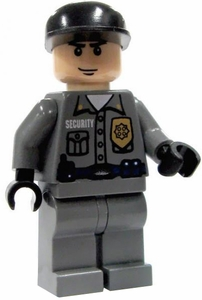 LEGO Batman LOOSE Mini Figure Arkham Asylum Guard [White]